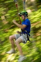 Zip Lining in Mountain View Arkansas